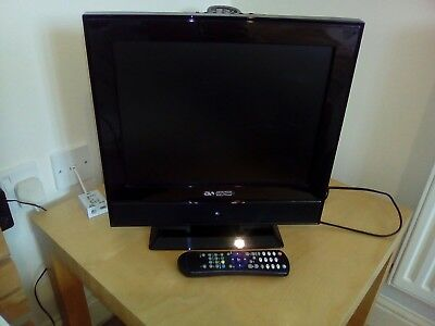 15inch acoustic solutions LCD flat screen colour tv