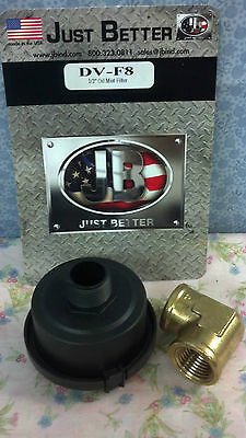 "Vacuum Pump, Filter, Oil Mist, 1/2"" JB Part# DV-F8"