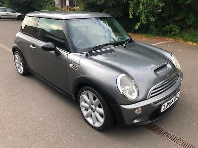 Mini 1.6 Cooper S. LOVELY IN GREY. 165 BHP. POSSIBLE NEW ENGINE IN PAST.
