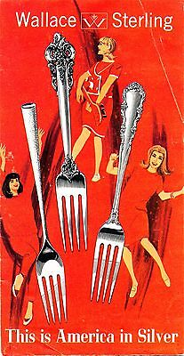 Original Wallace Sterling Flatware March 1966 Price List