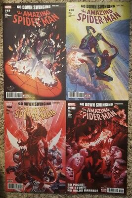Amazing Spider-Man 797 798 799 800 Alex Ross Lot 1St Appearance Red Goblin Nm