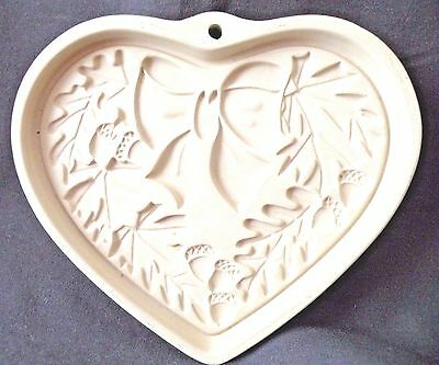 The Pampered Chef Autumn Wreath Seasons of The Heart Series 2003 Cookie Mold New
