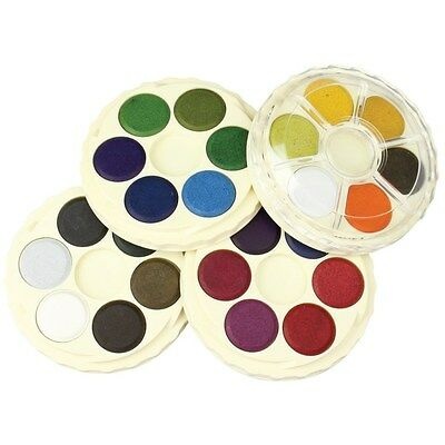 Koh-I-Noor Artists Watercolour Discs Brilliant Colours - 24 Colours Set