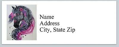 h g Personalized address labels Horse Buy 3 get 1 free