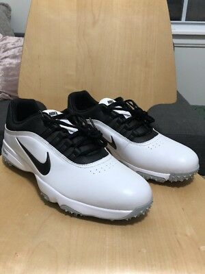 competitive price e7750 c103d Nike Air Zoom Rival 5 Golf Shoes White Black 878958-100 TW Tiger 13W 11