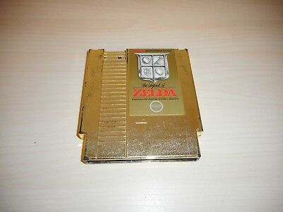 The Legend of Zelda Gold Nintendo NES Game Cartridge Original Cart