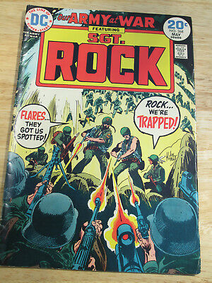 OUR ARMY AT WAR #268 in high grade 1974 DC WAR comic SGT ROCK