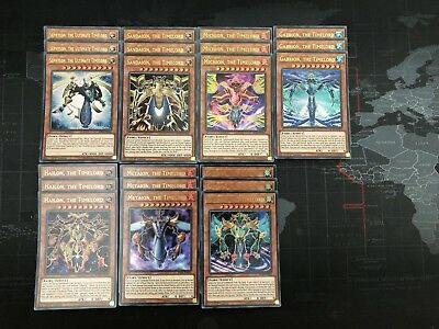 YUGIOH Tournament Deck Core Timelord Michion Metaion Deck Base! BLRR Ultra Rare