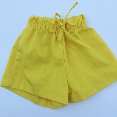 Vintage Buster Brown Yellow Shorts 3T