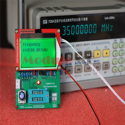 EZM328 Transistor Tester / ESR Meter / Frequency Counter / Signal Generator New