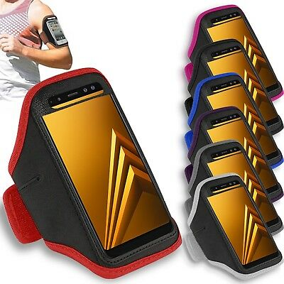 Premium Armband For Samsung Galaxy A6 Plus (2018) Running Jogging Exercise Case