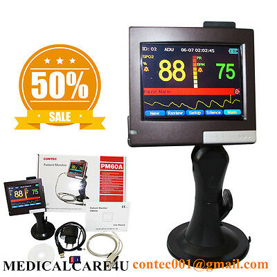 Touch Patient Monitor,Pulse Oximeter,Blood Oxygen Saturation,SPO2,Software USB