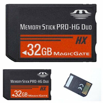 32GB Memory Stick MS Pro Duo Flash Memory Card For Sony PSP 1000 2000 3000