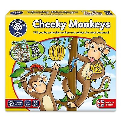 Orchard Toys Cheeky Monkeys Game Educational Number Game