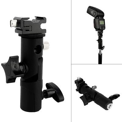 Hot Shoe Mount Adapter Flash Light Stand Umbrella Holder Bracket for Speedlight