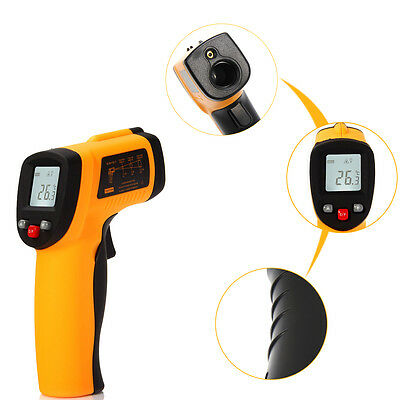 US FDA Approved Digital Temperature Gun Noncontact Infrared IR Laser Thermometer
