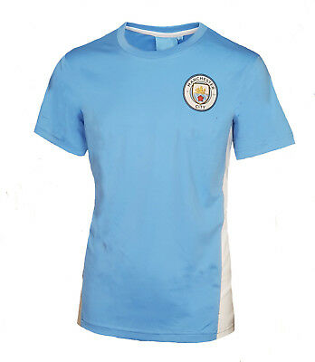 BOYS 4 5 Years MANCHESTER CITY Poly Training T Shirt Kids Football Top MCT37
