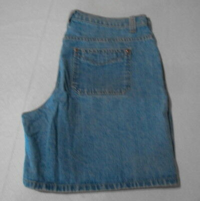 Women's Faded Glory Blue Denim Shorts ~ Size 14