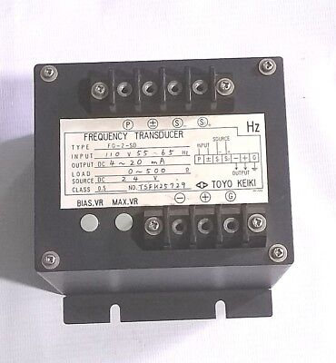 Frequency Transducer Control Converter 13211E6901 Technology Research Corp