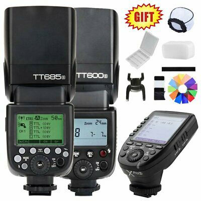 Godox TT685S TT600S 2.4G HSS TTL Camera Flash Speedlite XPro-S Trigger for Sony