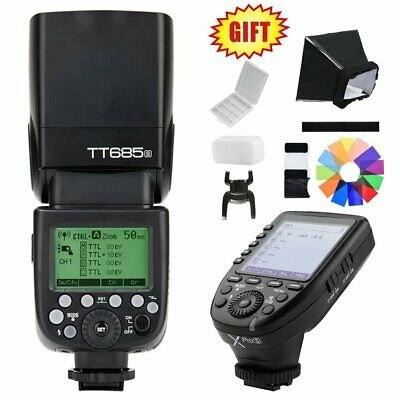 Godox TT685S 2.4G HSS TTL GN60 Camera Flash Speedlite + XPro-S Trigger for Sony