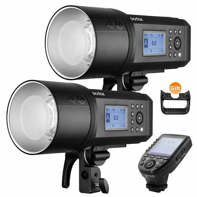 2PCS Godox AD600Pro 600W 2.4G TTL Outdoor Strobe Flash + Xpro-S Trigger for Sony
