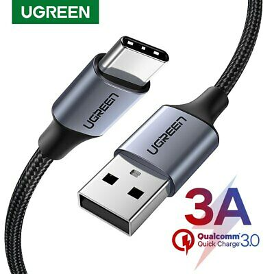 Ugreen USB C Type C 3A Fast Charging Cable Data Charger Cable for Samsung S8 LG