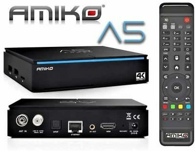 Amiko A5 COMBO 4K - Android&Enigma2