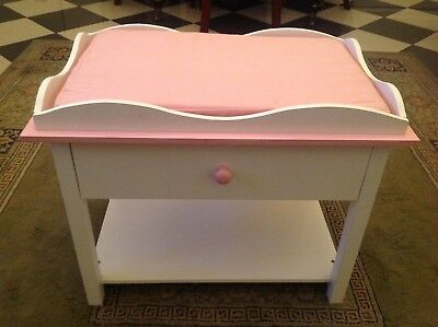 Large Wooden Baby Doll Change table. Excellent condition.