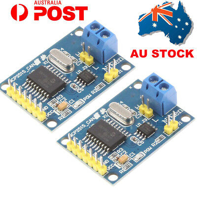 2X MCP2515 CAN Bus Module TJA1050 Receiver SPI for Arduino 51 MCU ARM Controller