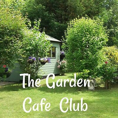 THE GARDEN CAFE CLUB dot com cafe business opportunity for sale, tea coffee