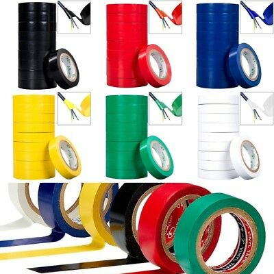 Electrical Insulation Tape Insulating PVC High Quality Adhesive Electricians DIY