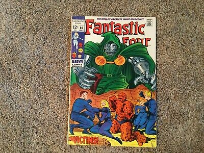 Fantastic Four #86 (May 1969, Marvel)