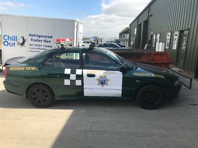 Charity banger rally police sheriff car