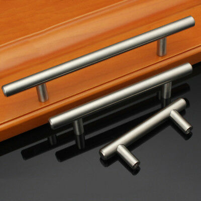 Kitchen Cabinet Pulls Brushed Nickel Stainless Steel T Bar Drawer Knobs