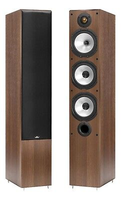 Monitor Audio MR6 Walnut Floorstanding Speakers (Pair)