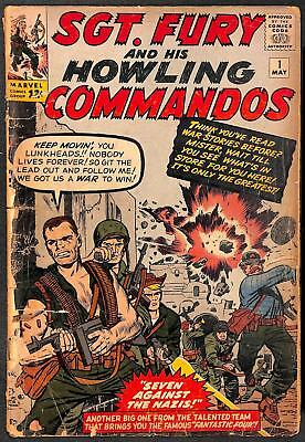 Sgt. Fury and His Howling Commandos #1 PR