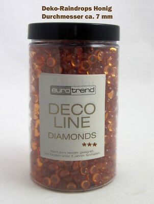 Deko - Raindrops Diamonds, honig ca. 230 g