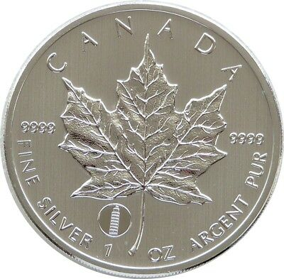 2012 Canada Maple Leaf Tower of Pisa Privy $5 Five Dollar .9999 Silver 1oz Coin