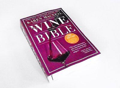 The Wine Bible: 2nd Edition by Karen MacNeil (2015) Paperback, Revised ~ NEW!