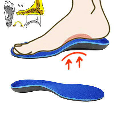 Orthotic Insoles Arch Support Shoes Inserts Pads Foot Heel Cushion for Flat Feet