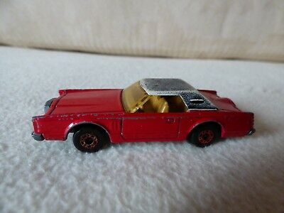 """Matchbox Superfast No.26 """"LINCOLN CONTINENTAL"""", Made in England, Lesney 1979"""