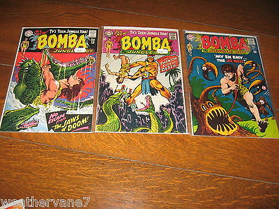 Bomba The Jungle Boy Comic Book  full set 1 2 3 4 5 6 7