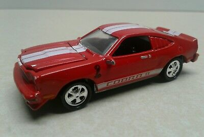Johnny Lightning Red Ford Mustang Cobra II (1999)