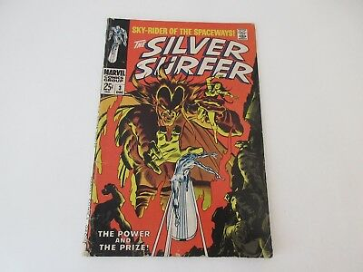 The Silver Surfer No 3 - 1st Mephisto Appearance - Dec 1968 - Good condition