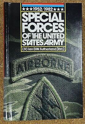 US Special Forces of the United States Army 1952-1982 von Sutherland die Bibel