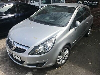 2007 Vauxhall Corsa 1.7 Cdti Spares Or Repair Needs Ecu