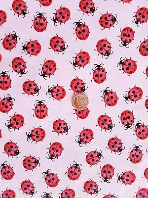 Pandas Red Polycotton Fabric 112cm wide.Pay only one COMBINED postal charge
