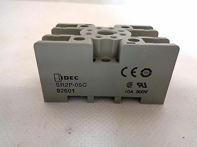 New Idec Sr2P-05C Relay Socket 8 Pin