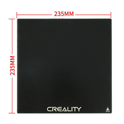 Creality 3D 235mm X 235mm Borosilicate Glass Heat Bed Plate for CR-20 Ender-3